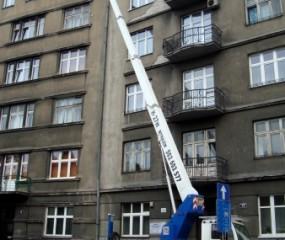 Usługi podnośnikiem koszowym | EHC Kraków